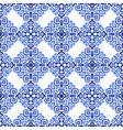 Blue background luxury weave pattern vector image