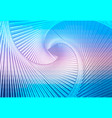 blue shades pink glowing spiral background vector image