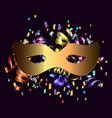 festive background for carnival festival vector image