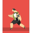 Running Sports vector image