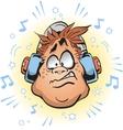 Loud Headphones vector image vector image