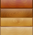 background with wooden texture vector image