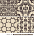 Vintage ornamental brown backgrounds vector image