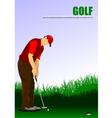 al 1004 golf 02 vector image