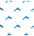 blue dolphin pattern seamless vector image