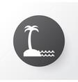seaside place icon symbol premium quality vector image