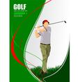 al 1004 golf 03 vector image vector image