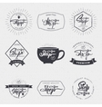 Coffee shop - badge signboard can be used to vector image
