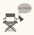 director film vector image