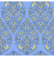Seameless Paisley Pattern vector image