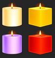 candles vector image