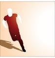 runing man vector image vector image