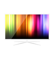 Abstract LED Television - Design vector image vector image