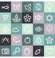 set of design elements and symbols vector image