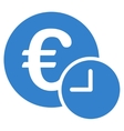 Euro credit icon from Business Bicolor Set vector image