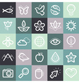 set of design elements and symbols vector image