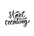 start creating inspirational lettering poster or vector image