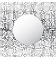 circle halftone dot abstract background vector image