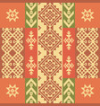 ethnic geometric ornament vector image