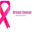 Awareness Pink Ribbon The International Symbol of vector image