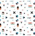 Cute Trandy Seamless Pattern vector image