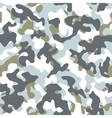 Winter Camouflage Seamless Pattern vector image