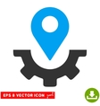 Service Map Marker Eps Icon vector image