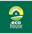 logo house vector image vector image