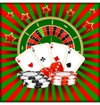Casino games vector image vector image