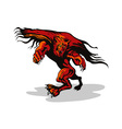 Werewolf Monster vector image