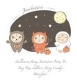 baby halloween vector image