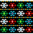 Background with ethnic texture vector image