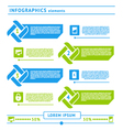 Web infographics elements vector image