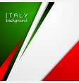 Corporate bright abstract background Italian vector image