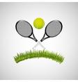 sport tennis people vector image