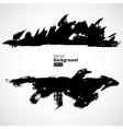 Grunge black background vector image vector image