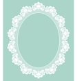 Retro stylish frame vector image