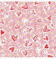 heart texture vector image