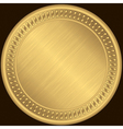 Gold Medal Frame vector image vector image