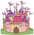 castle vector image