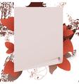 autumn paper vector image