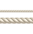 Rope seamless vector image