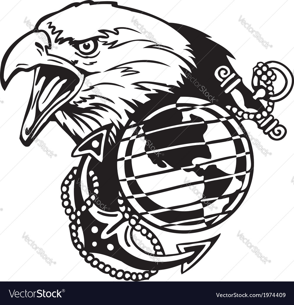 Military design  vinylready vector