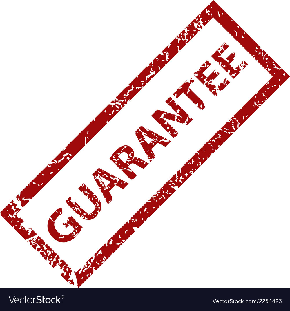 Guarantee grunge rubber stamp vector