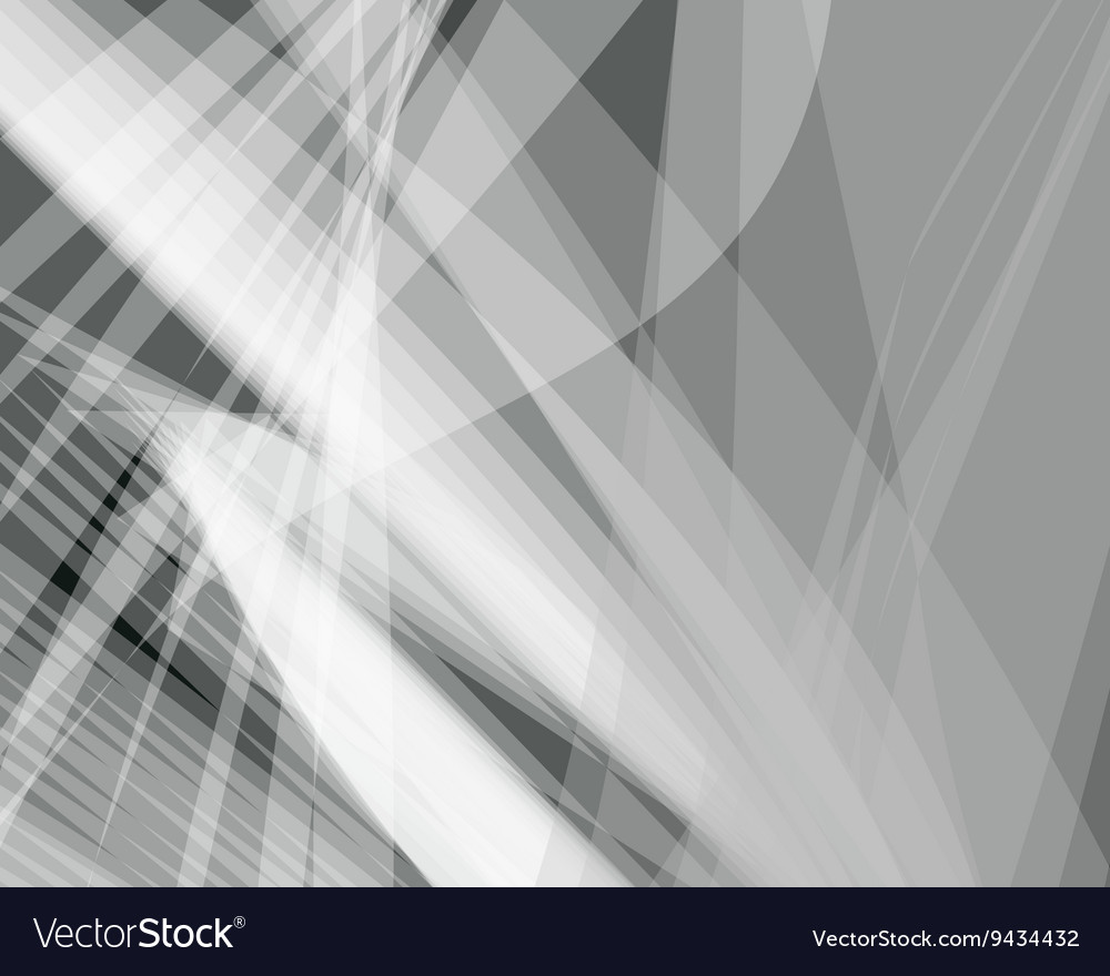 Abstract background gray transparent wave vector