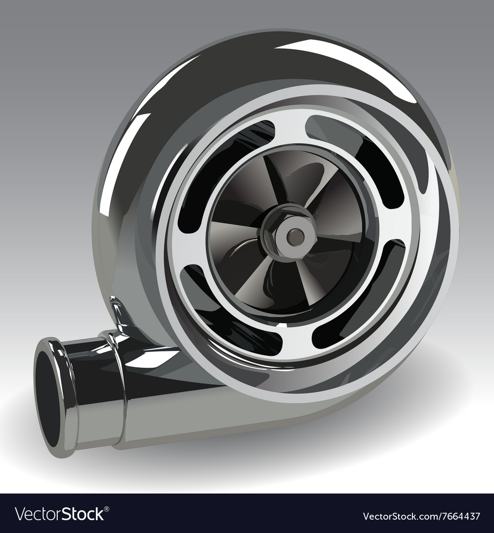 Turbo compressor vector