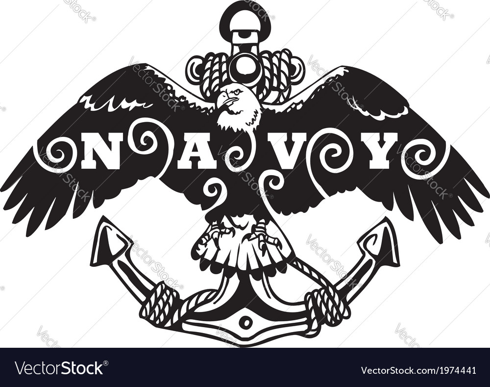 Navy military design  vector