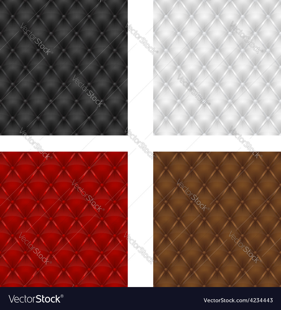Leather upholstery 05 vector
