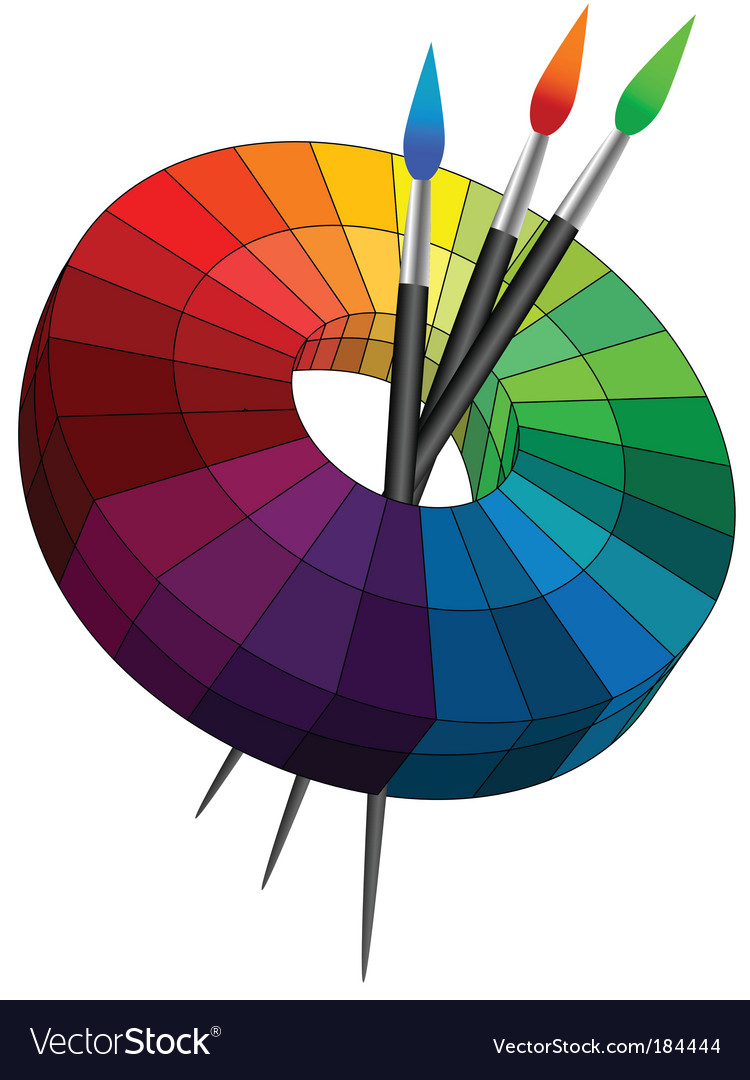 Color palette vector