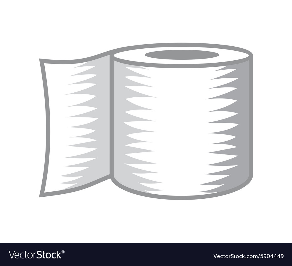 Toilet paper icon2 resize vector